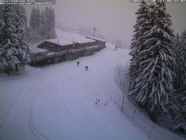 Elm-Ämpächli, wintersport Zwitserland