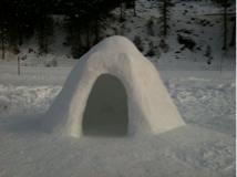 Wintersport Gerlos iglo