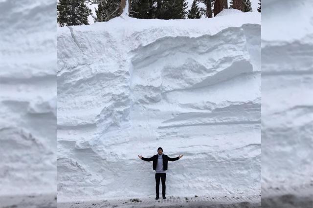 Lake Tahoe Donner Pass 2000m