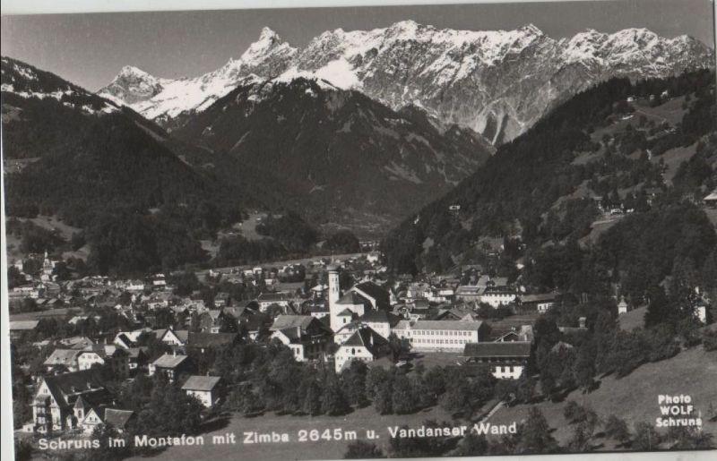 Montafon in sixties