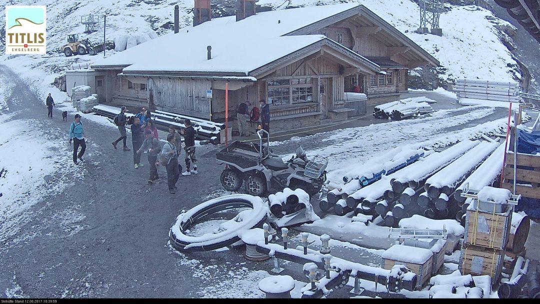 skihuettestand