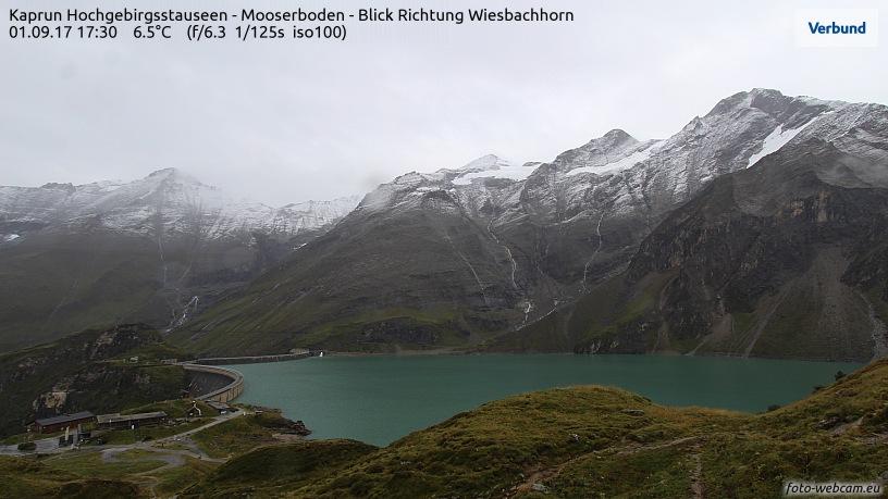 Kitztsteinhorn septembersneeuw