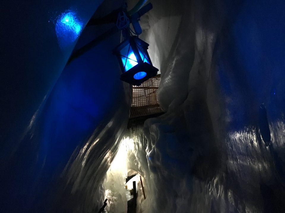 magie in de Hintertuxer Gletscher