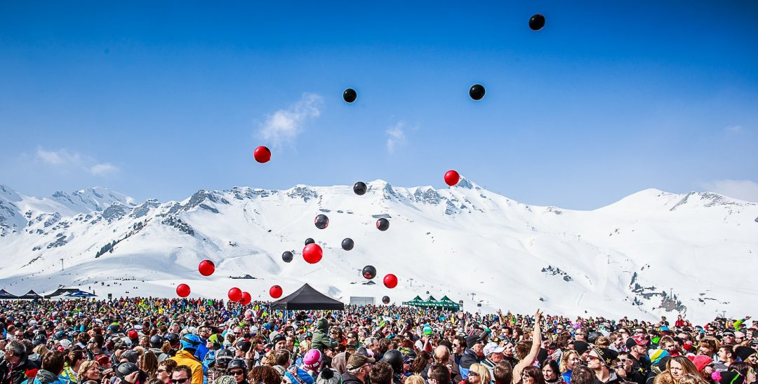 Rock The pistes in Champéry