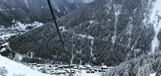 Winterse taferlen Val d'Anniviers