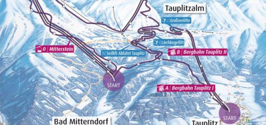 Skiroute Die Tauplitz 1